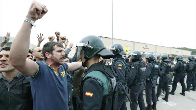 Ejército español está listo para entrar en acción en Cataluña