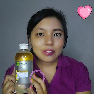 pemakaian-garnier-micellar-oil-cleansing-water