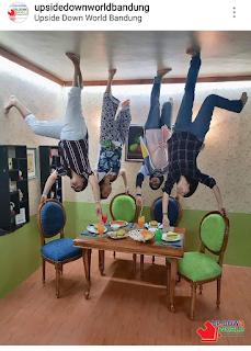 tempat wisata kekinian upside down