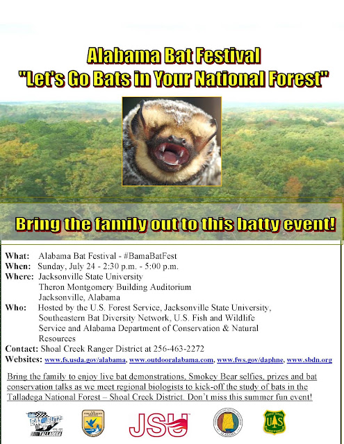 Alabama Bat Festival Flyer