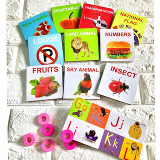 12 in 1 Set Early Learning Baby Books with Actual Photo References