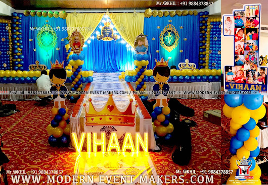 Event Management Company| Balloon Decoration| Modern Entertainment - 9884378857
