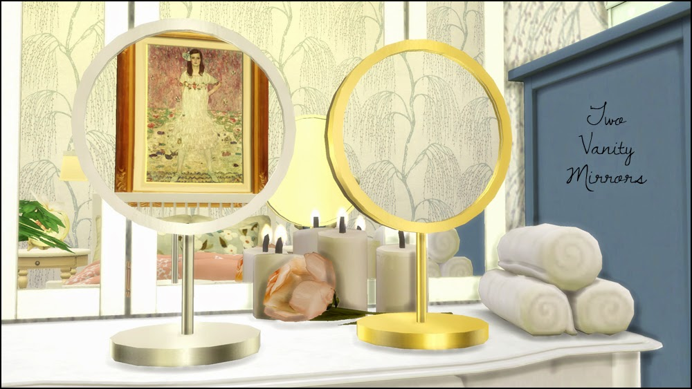 My Sims 4 Blog Makeup Amp Perfume Set And Vanity Mirror By