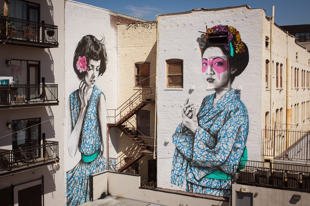 After touring around USA for several month, Fin DAC and Angelina Christina just wrapped up their ultimate collaboration on the streets of Los Angeles. 1