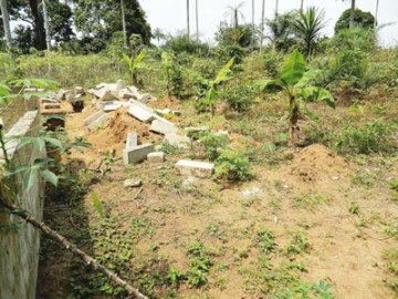 The place the corpse was found in Akwa Ibom