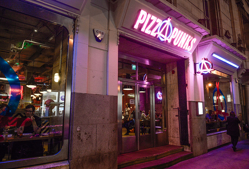 Pizza Punks Glasgow | Colours and Carousels - Scottish Lifestyle, Beauty and Fashion blog