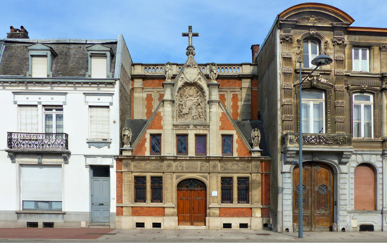 Chapelle du Voeu - 18 rue Faidherbe, Tourcoing