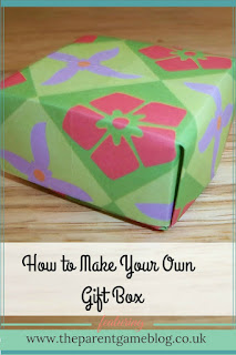 A step by step guide to create your own gift box using simple Origami. Includes demonstation video.