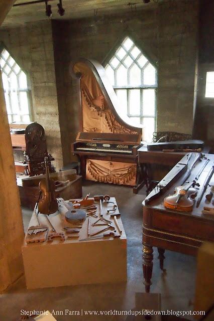 Mercer Museum instruments