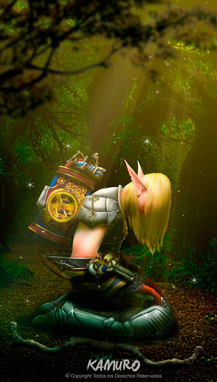 Elfo de Jefferson Caballero aka Kamuro