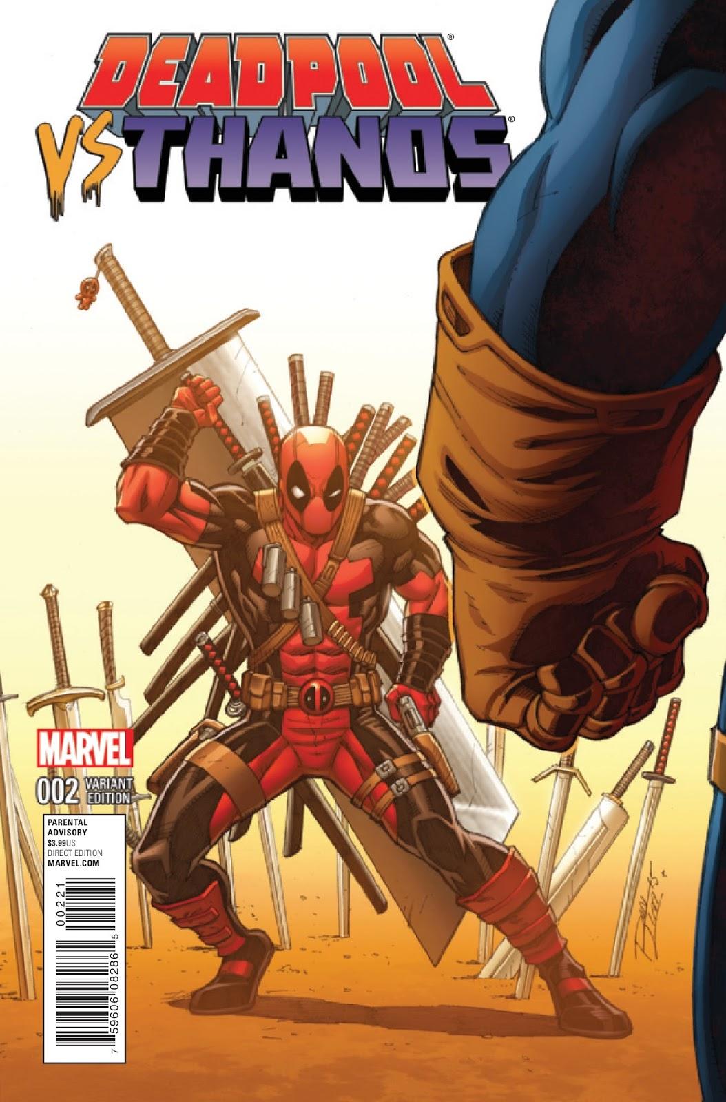 Deadpool Vs Thanos, Cuando El Bocazas Se Enfrentó Al Peor