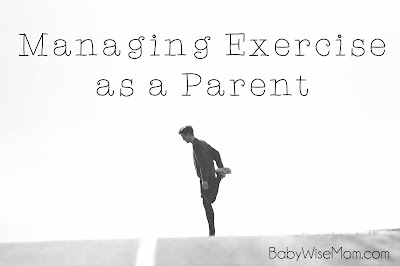 Managing Exercise as a Parent