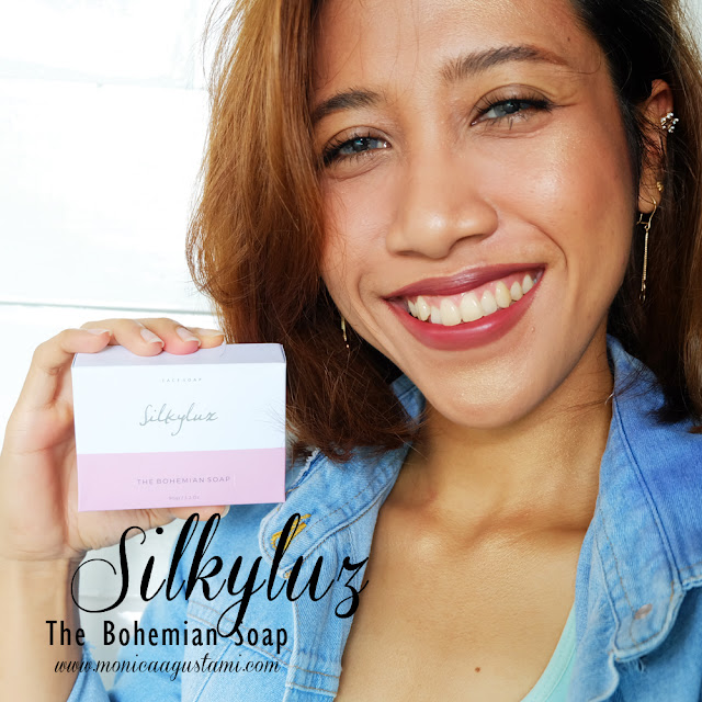 review silkyluz the bohemian soap
