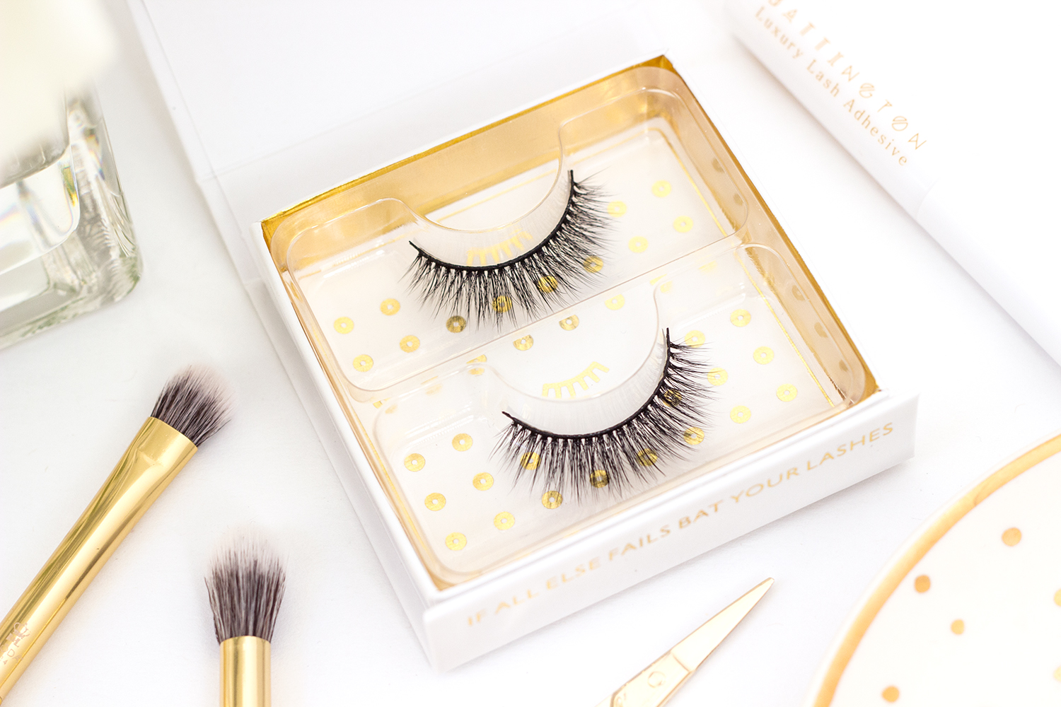 Battington Lash Cruelty Free Monroe 3D Silk False Lashes