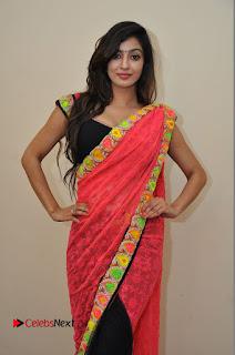 Actress Vaibhavi Joshi Pictures in Red Saree at tur Talkies 2 Movie Opening  0041
