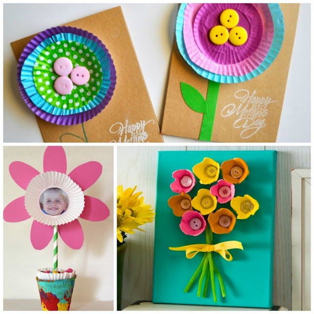 25 utterly adorable kid-made gifts for mom or grandma.  LOVE these!