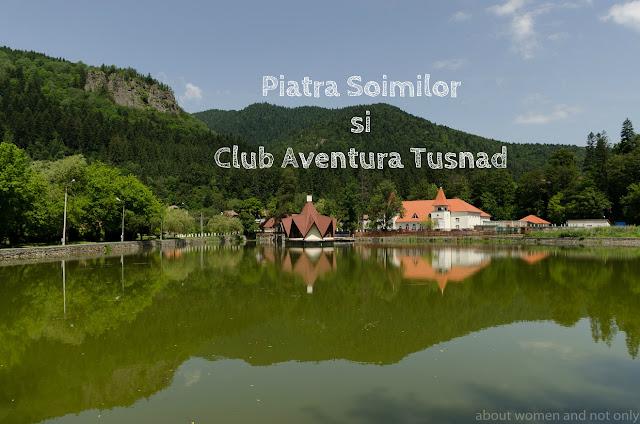 Loc de pornire catre Club Aventura si catre traseul montan Piatra Soimilor din Baile Tusnad.