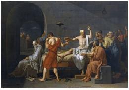 La muerte de Sócrates - J. L. David