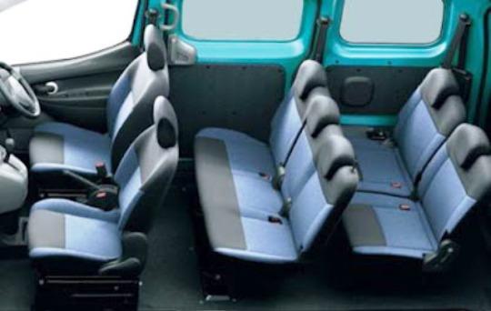 Tampilan Interior Nissan Evalia Terbaru
