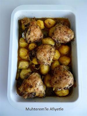 fırında patates tavuk yemeği nasıl yapılır?