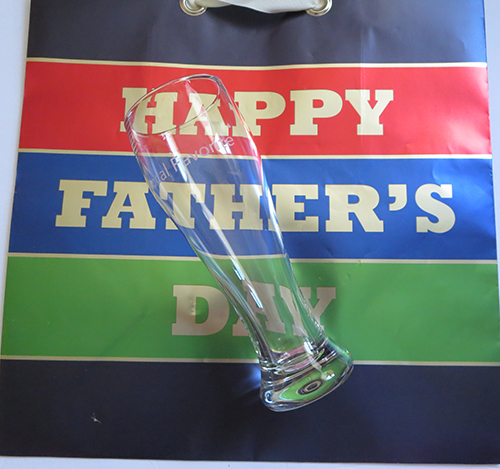 Hallmark Pilsner Glass for Father's Day, #LoveHallmarkCA, #Review #Giveaway