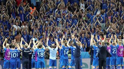 موعد توقيت مباراة فرنسا وايسلندا يوم الاحد 3 يوليو 2016 والقنوات الناقلة للقاء كورة مع الترددات المجانية والمعلقين