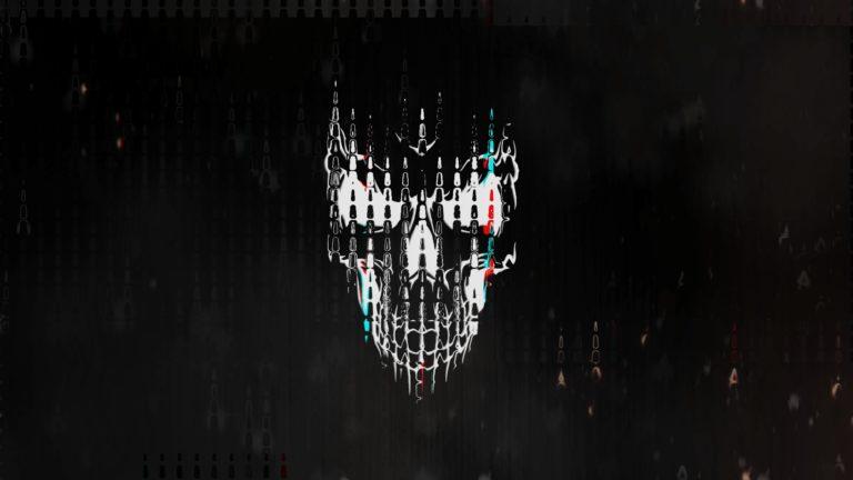 Glitch Horror Logo Intro Template #11 Sony Vegas Pro