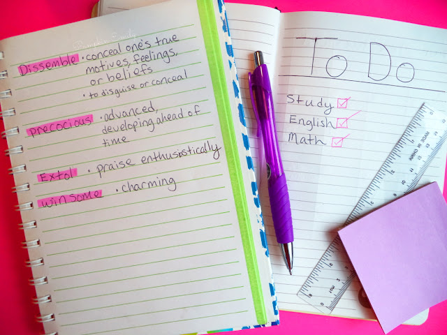 5 Organization & Study Tips | How To Study Better for High School & College Study Tips