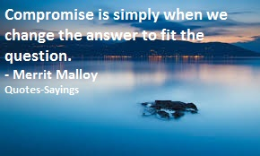 quotes on compromise