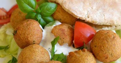 Mirabelkowy Blog Falafel