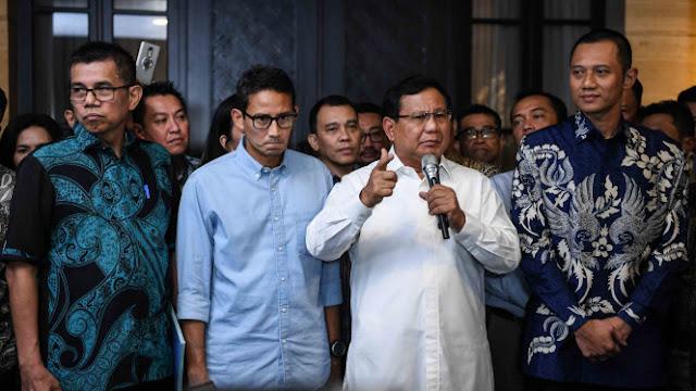 Makna di Balik Angka 800 Jumlah Tim Pemenangan Prabowo-Sandi