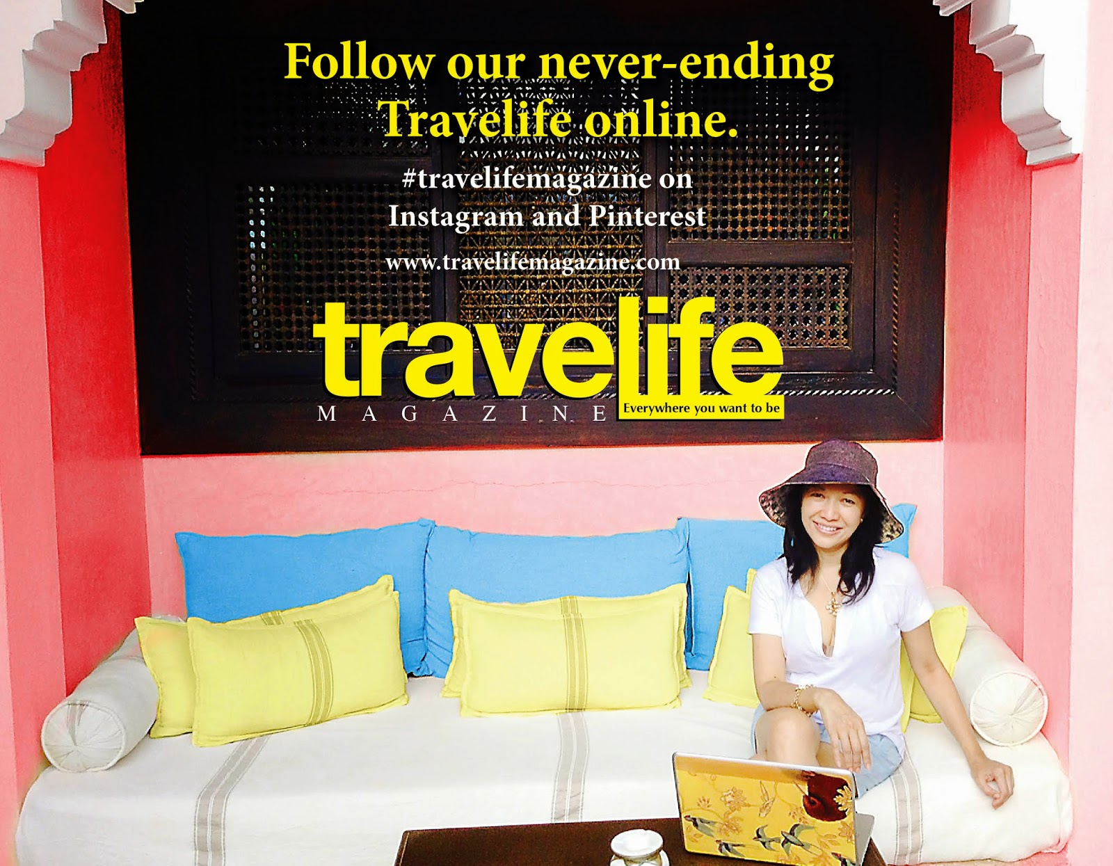 Christine Cunanan, publisher of Travelife Magazine, the leading travel and lifestyle magazine in Asia