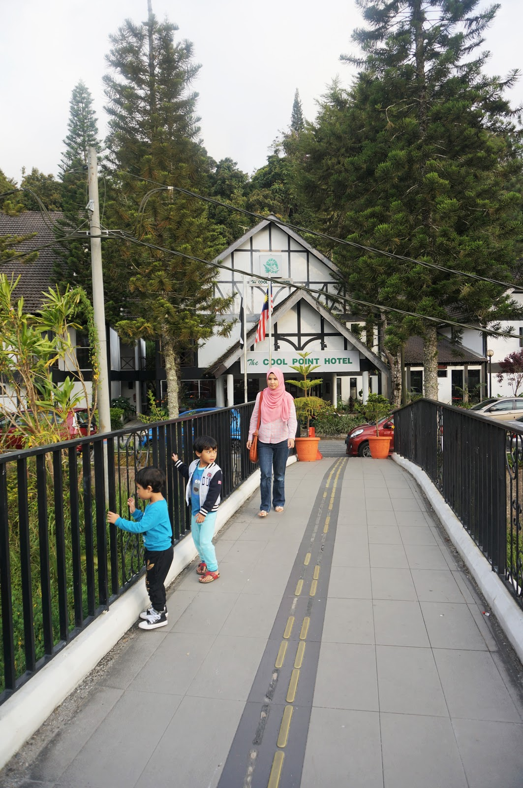 Sweet Escape To Cameron Highland With Familia│An Evening Walk At Tanah Rata