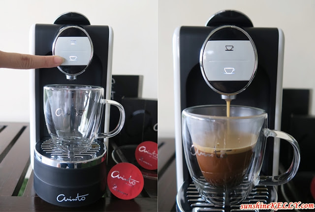 ARISSTO Italian Premium Coffee, Arissto Coffee Machine, Arissto Happy Maker, My Daily Cuppa