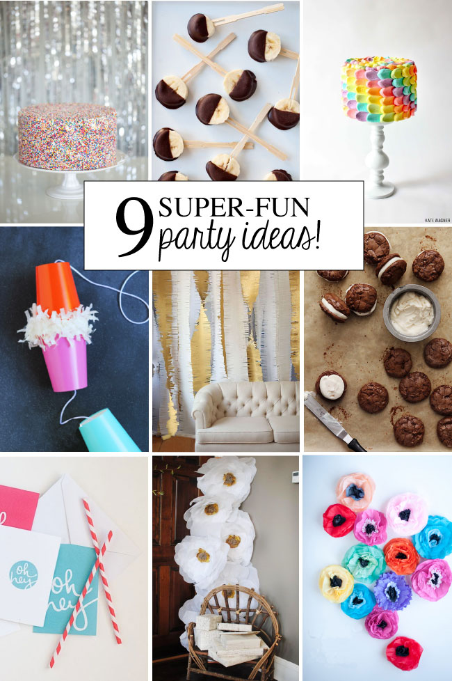 Super Fun Nail Art Ideas 2012: 9 Super Fun Party Ideas!
