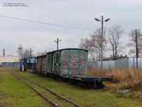 Tabor na stacji Jędrzejów Wąski