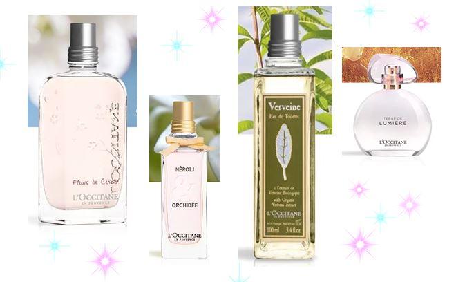 L'Occitane Perfume and Fragrance Wishlist