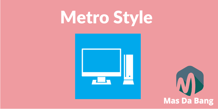Wdget Follow dan Subscribe Metro Style