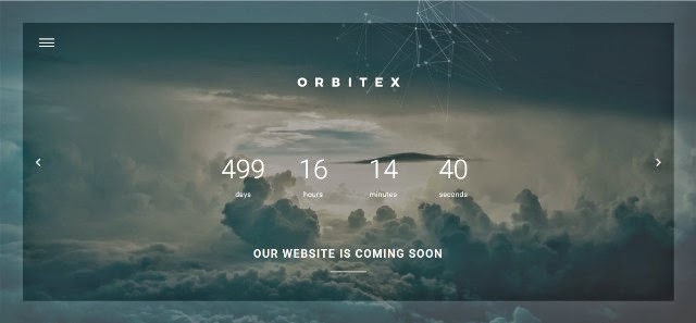 Orbitex - Concept Responsive Coming Soon Template