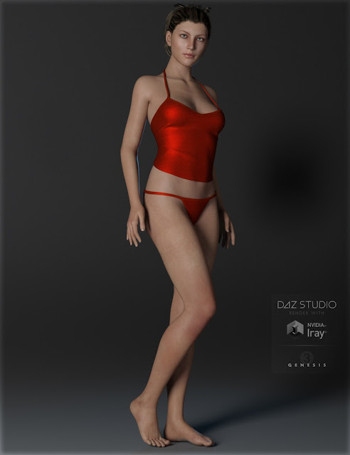 Sexy China Outfit for Genesis 3 Female