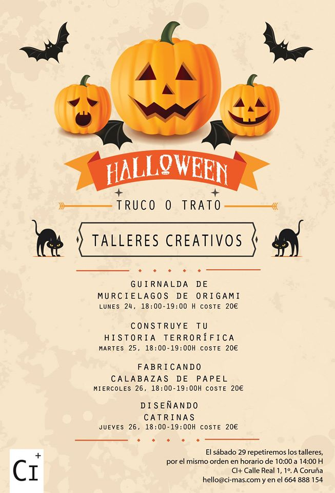 Coruña In: 21 Fiestas de Halloween para niños