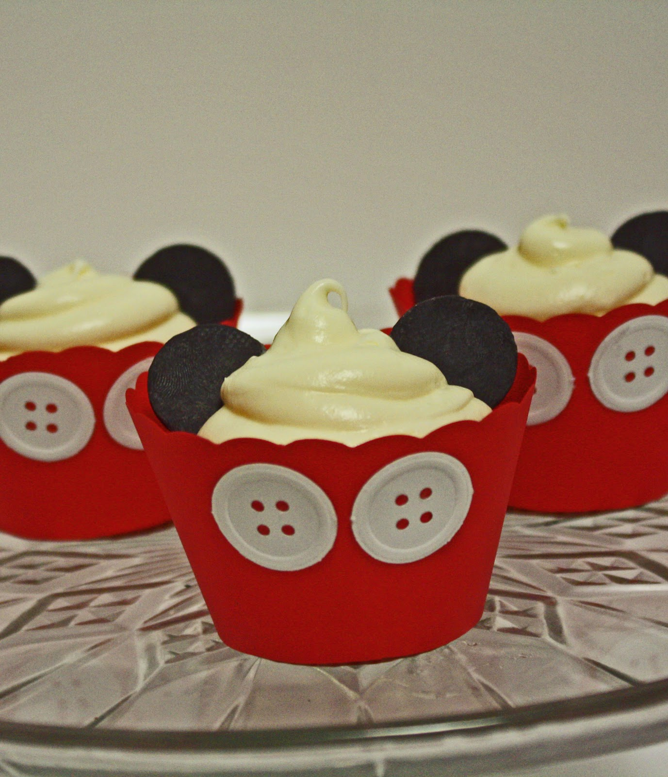 Sab Cakes Mickey Mouse Cupcakes