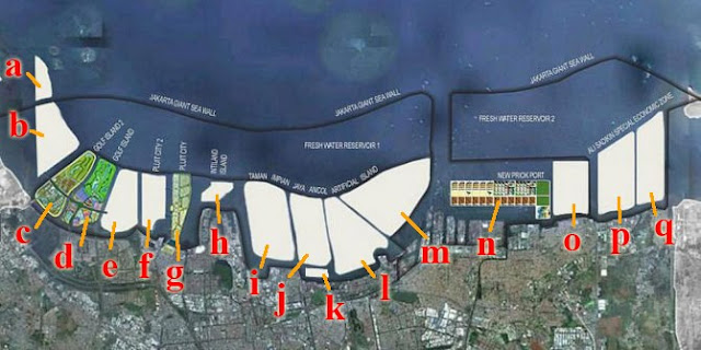 Sumbat 13 Muara Sungai, Reklamasi Teluk Jakarta Merupakan Bencana Besar