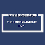 COURS THERMODYNAMIQUE SMPC S1 PDF