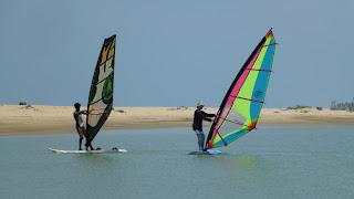 Windsurfkurs Flat Water Kalpitiya Lagoon