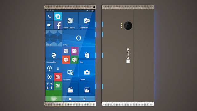 Microsoft Surface N Concept 2017