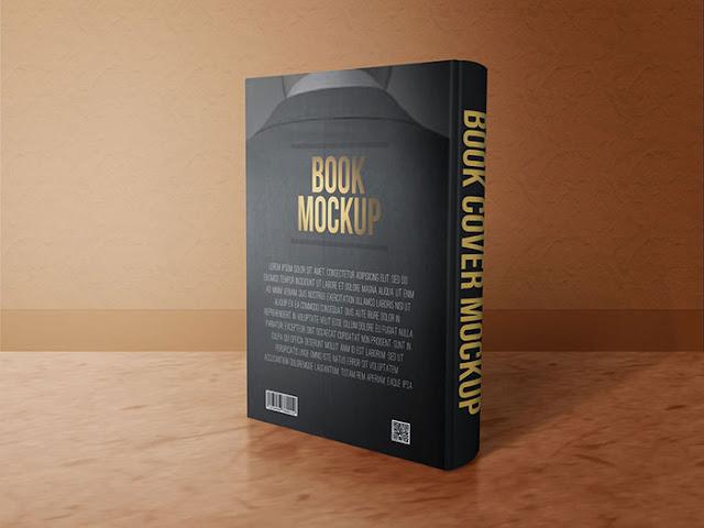 4 Free Book Mock-ups PSD