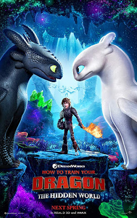 How to Train Your Dragon 3 : The Hidden World (2019) Hindi Dual Audio BluRay | 720p | 480p