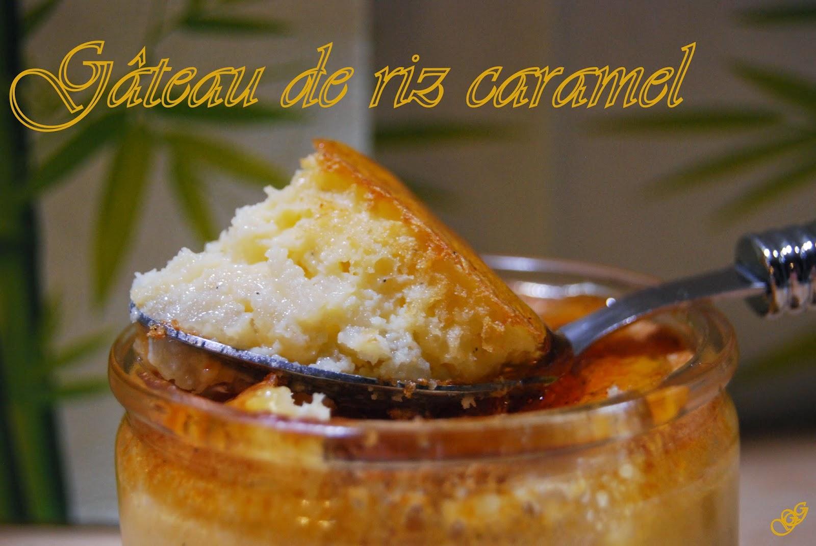 Gâteau de riz Caramel