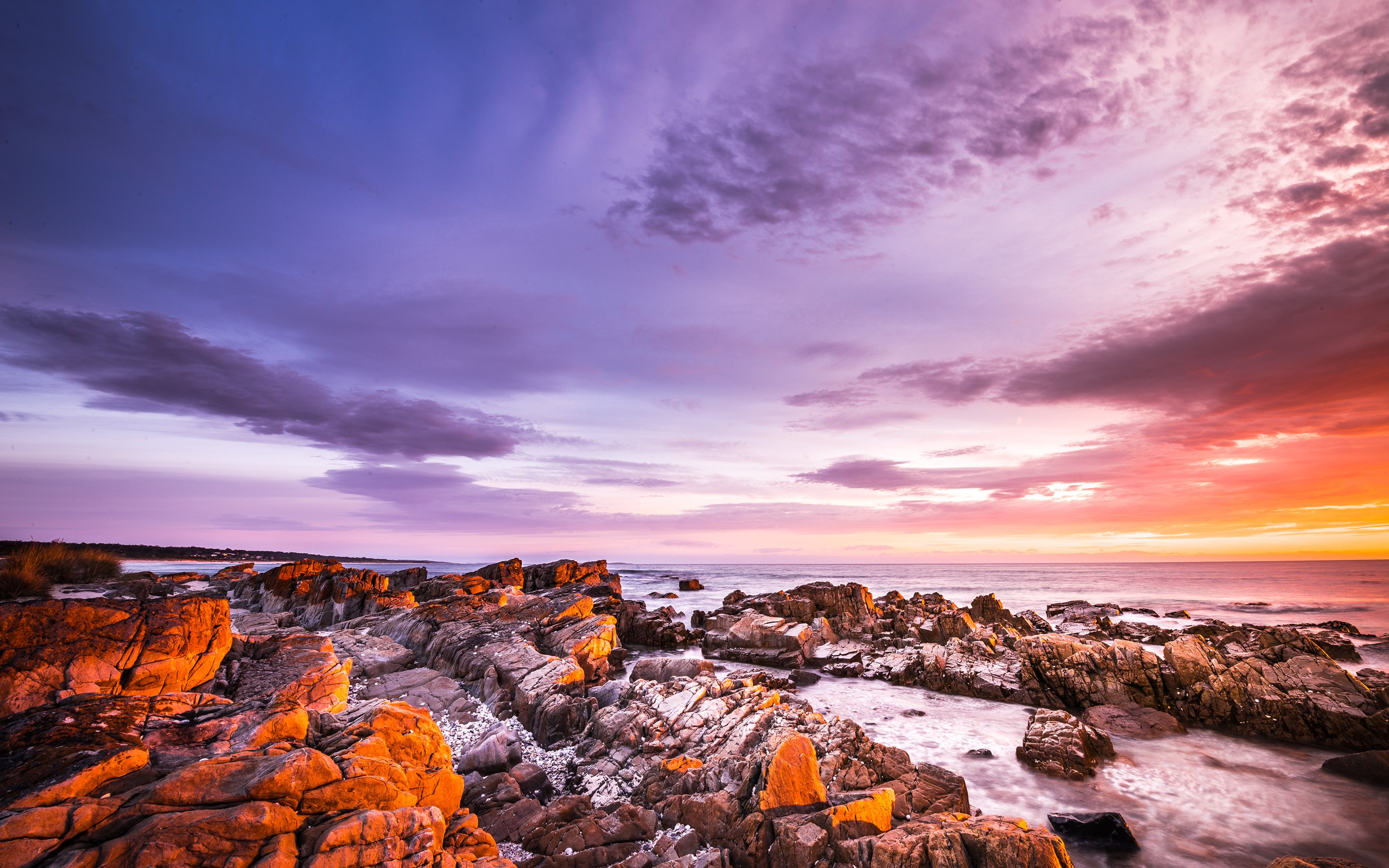 bay of fires hd wallpapers 4k
